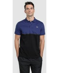 Lacoste - Two-tone Short Sleeve Polo Shirt - Lyst