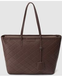 El Corte Inglés - Dark Brown Shopper Bag With Topstitching - Lyst