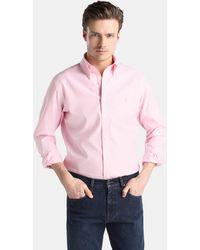 Polo Ralph Lauren - Regular-fit Pink Checked Shirt - Lyst