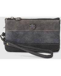 Caminatta - Black Pouch With A Short Detachable Strap - Lyst