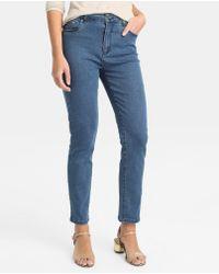 Yera - Blue Skinny Jeans - Lyst
