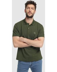 7f395ec0 Lacoste Classic Short Sleeve Piqué Polo Shirt in Red for Men - Lyst