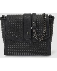 e7aa5f9fad98 ... El Corte Inglés - Black Mini Crossbody Bag With Studs - Lyst buy online  e9307 455c7  Lyst - Fendi Blue Crosshatched Leather Chameleon ...