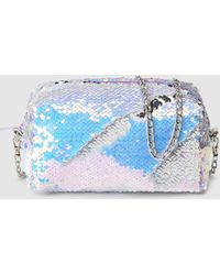 Green Coast - Sequinned Toiletry Bag - Lyst