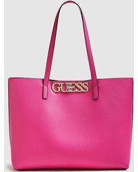 035b750d78 Guess Hwisae P7306 Tote Bag Women s Shopper Bag In Pink in Pink - Lyst