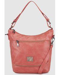 Caminatta - Coral Hobo Bag With Shoulder Strap - Lyst