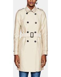 Esprit - Basic Beige Raincoat - Lyst