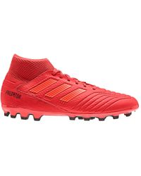 9a68f2d32 adidas X 18.3 In Indoor Football Boots in Red for Men - Lyst