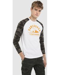 Green Coast - White Long Sleeve T-shirt - Lyst