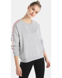 Green Coast - Sweatshirt With Slogan From The Go Run Collection - Lyst