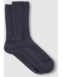 Punto Blanco - Grey Bamboo Socks - Lyst