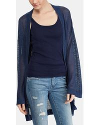 Polo Ralph Lauren - Long Cardigan With Two Pockets - Lyst