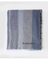 Gloria Ortiz - Blue Scarf With Sequins - Lyst