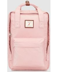 Green Coast - Wo Basic Pink Backpack With Pelican Label - Lyst