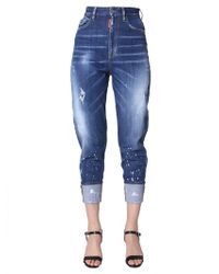 DSquared² - JEANS SASOON 80'S FIT IN DENIM STRETCH - Lyst