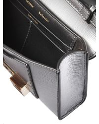 Proenza Schouler - Ps11 Wallet With Crossbody Strap In Metallic Leather - Lyst