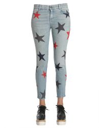 Stella McCartney - Ankle Grazer Star Jeans - Lyst
