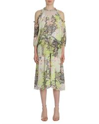 Opening Ceremony - Floral Pearl Edge Dress - Lyst