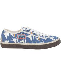 Marni - Printed Canvas Sneakers - Lyst