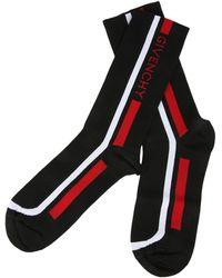 Givenchy - Black Moto Biker Socks - Lyst