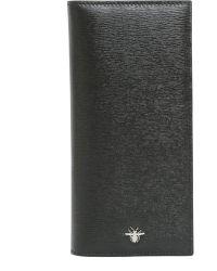 Dior Homme - Portafogli Lungo In Pelle Con Ape Iconica - Lyst
