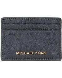 MICHAEL Michael Kors - Porta Carte Jet Set Travel In Pelle - Lyst