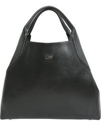 Lanvin - Medium Leather Tote - Lyst