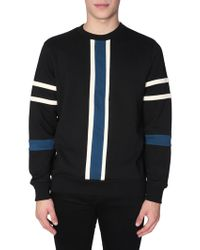 PS by Paul Smith - Stripe Panel Jumper - Lyst