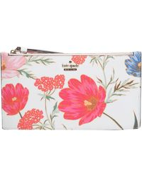 Kate Spade - Pouch Ariah Con Stampa Floreale - Lyst