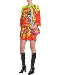 Moschino - Crazy Fruit T-shirt Dress - Lyst