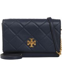 Tory Burch | Georgia Mini Leather Crossbody Bag | Lyst