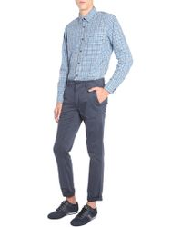 "BOSS by Hugo Boss - Regular Fit ""relegant"" Cotton With Vichy Check - Lyst"