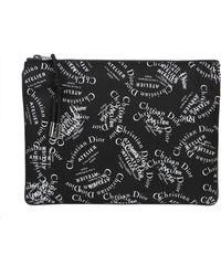 """Dior Homme - """"christian Dior Atelier"""" Large Clutch - Lyst"""