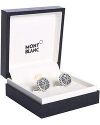 Montblanc Inlet Steel Cufflinks
