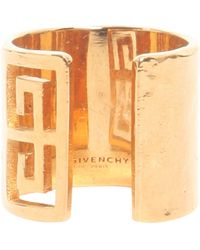 Givenchy - Gv Brass Ring - Lyst