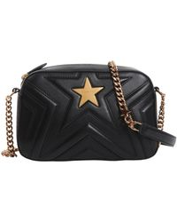 Stella McCartney - Small Stella Star Shoulder Bag In Alter-nappa - Lyst