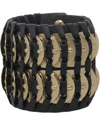 DSquared² | Samurai Bracelet With Brass Insert | Lyst