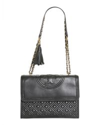Tory Burch - Flaming Leather Bag - Lyst