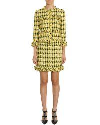 Boutique Moschino - Short Tweed Jacket - Lyst