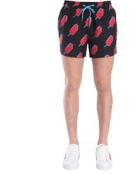 "Paul Smith - ""ice Lolly"" Printed Swim Shorts - Lyst"