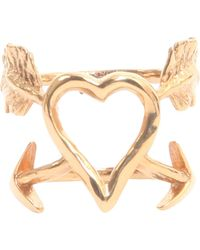 Givenchy - Heart Arrows Ring - Lyst
