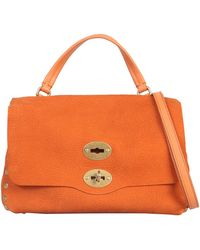 Zanellato Small Jones Tote - Orange