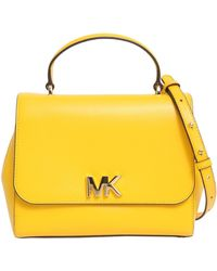 MICHAEL Michael Kors - Medium Mott Leather Bag - Lyst