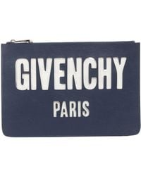 Givenchy - Pouch Iconic Prints In Embossed - Lyst