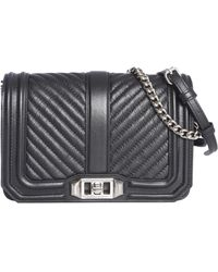 Rebecca Minkoff - Small Chevron Quilted Bag - Lyst