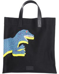 PS by Paul Smith - Dino Canvas Tote Bag - Lyst