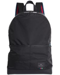 PS by Paul Smith - Nylon Bacpack With Iconic Stripes - Lyst