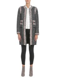 """Moncler Gamme Rouge - Cappotto """"ontario"""" In Tweed Con Piumino 100 Gr Estraibile - Lyst"""