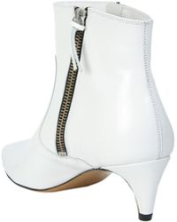 Étoile Isabel Marant - Deby Ankle Boots In Smooth Leather - Lyst