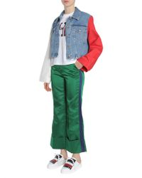 Tommy Hilfiger - Pantalone Tailored Con Banda Laterale - Lyst
